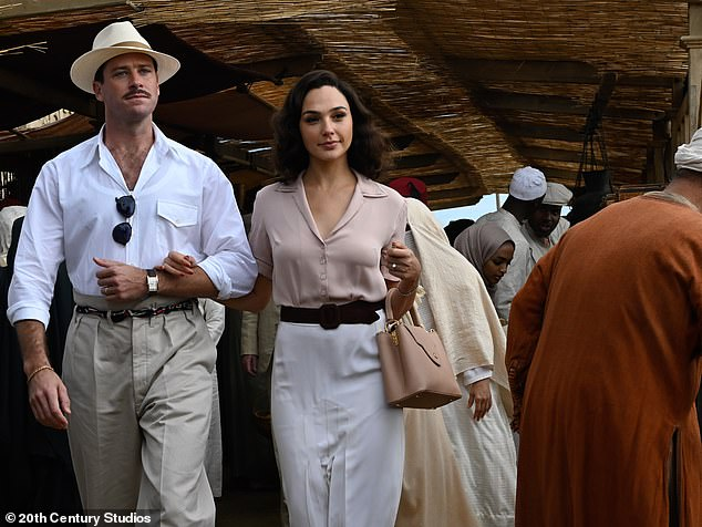 Hitting US/UK theaters in February! Hammerwill next be seen as Simon Doyle in Kenneth Branagh's Death on the Nile alongside Gal Gadot (M), Annette Bening, and Russell Brand
