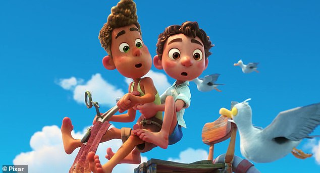 On small screens: Not appearing in theaters, however, is the Pixar film Luca, which will instead be available on Disney+ on June 18