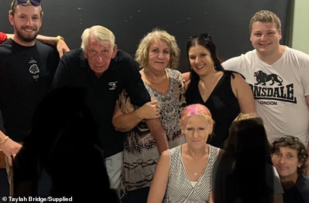 The Bridge family (pictured) have started a Go Fund Me page to try and get life back on track