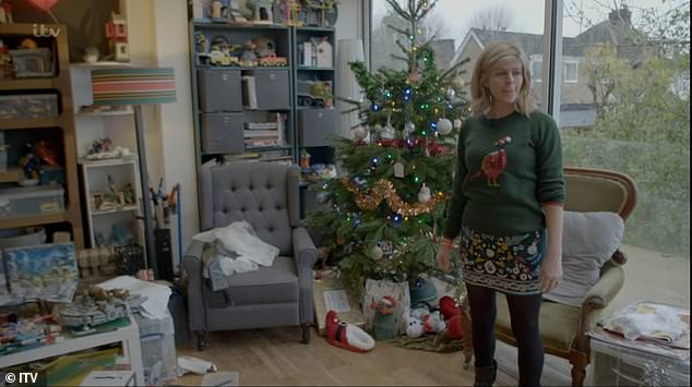 'Lucky':Later in the documentary, in scenes filmed in February, Kate reflected on their Christmas time together, she said: ' We were very lucky that Darcey and Billy and I got to spend time with Derek.'