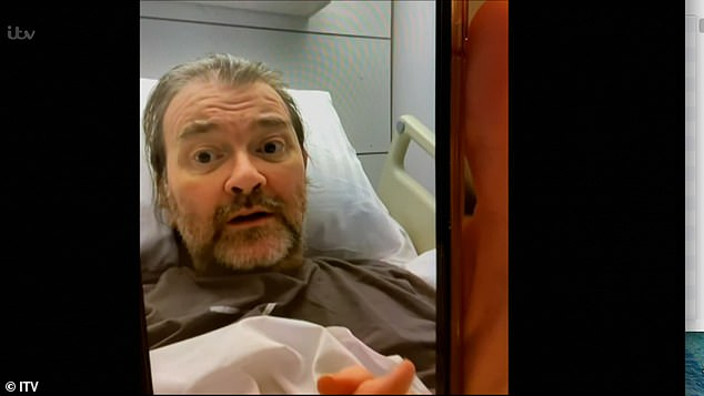 Update:During the end of the documentary, it offered viewers an update in Derek's recovery and shared a sweet video of the former lobbyist, 53, pictured, declaring his love for his wife
