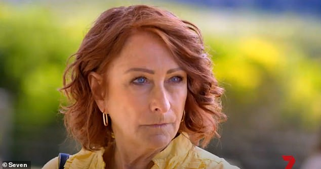 In danger: Irene Roberts (Lynne McGranger) discovers uncovers Susie McAllister's (Bridie Carter) deceitful ways - resulting in a threat to her life