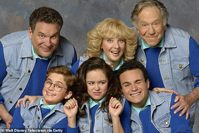 To a younger audience, he was best known for playing magazine editor Jack Gallo on longtime NBC series Just Shoot Me from 1997 to 2003, and as grandfather Albert 'Pops' Solomon on The Goldbergs (top right) since 2013