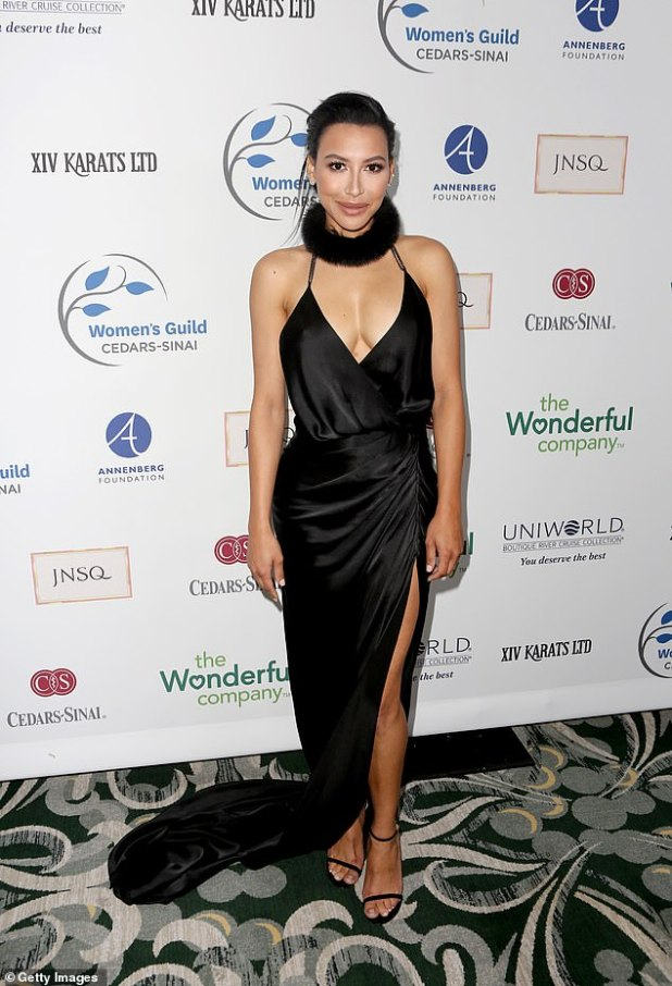 Big gesture: Naya Rivera (seen in May 2019) will be honored at the GLAAD Media Awards 2021 next month, which will be eight months after her death from drowning last July.