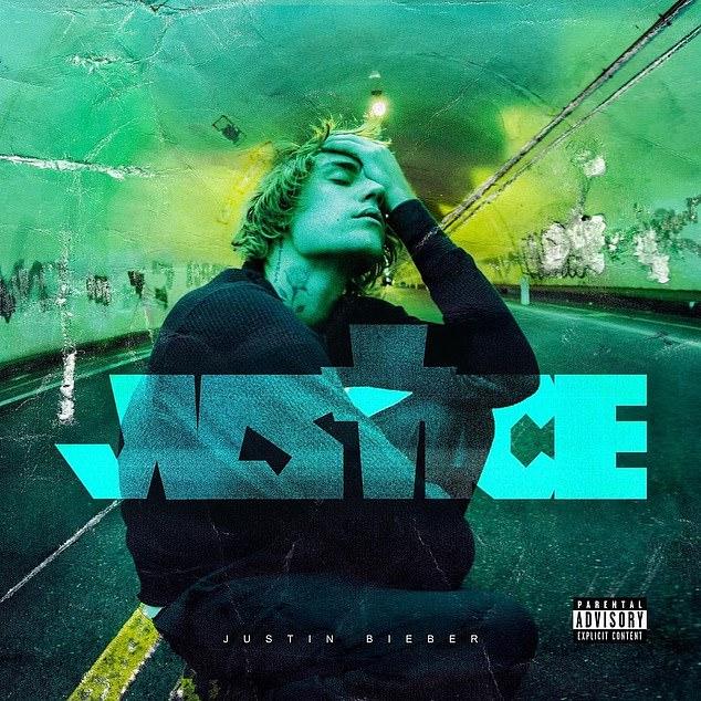 Growing up: Justin released his sixth studio album, Justice