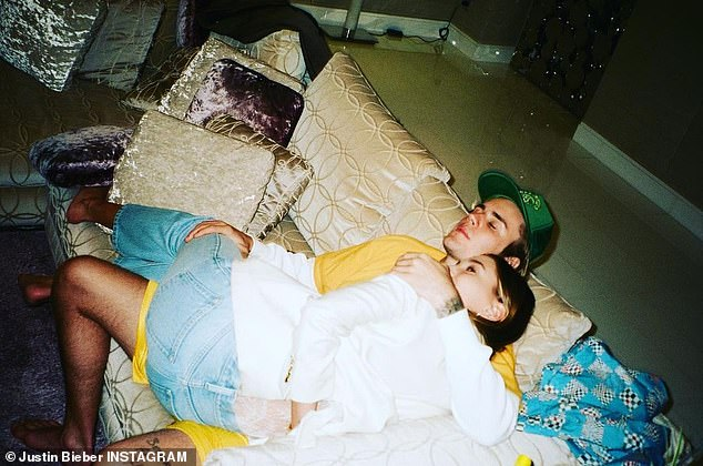 Lucky: Justin said he prioritizes spending time with his wife because he now enjoys his home life after never having a 'consistent family'