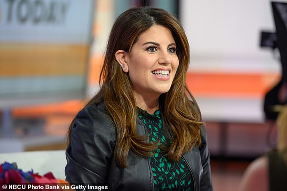Monica Lewinsky is pictured above in New York in October 2019. Then-President Bill Clinton had an affair with the former White House intern when she was just 22 years old