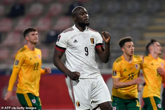 The Inter Milano player who had to be helped off the pitch, was Romelu Lukaku as he was unable to finish the game