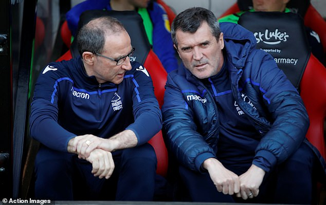 Martin O'Neill, who worked with Keane at Forest and the Republic of Ireland, has backed him