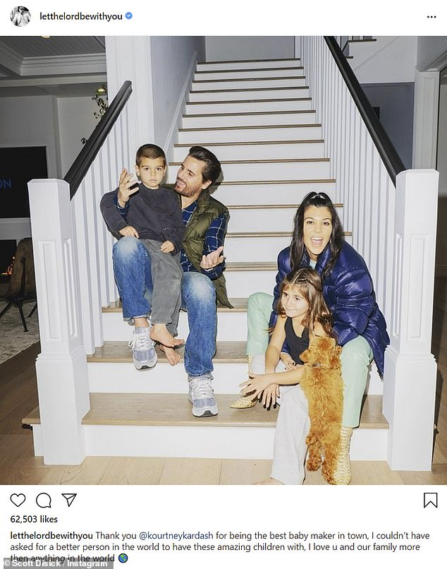 """""""I will never give up my relationship with Kourtney and the parenthood we have.  Nothing in a million years will be worth what we have.  'Said Scott"""