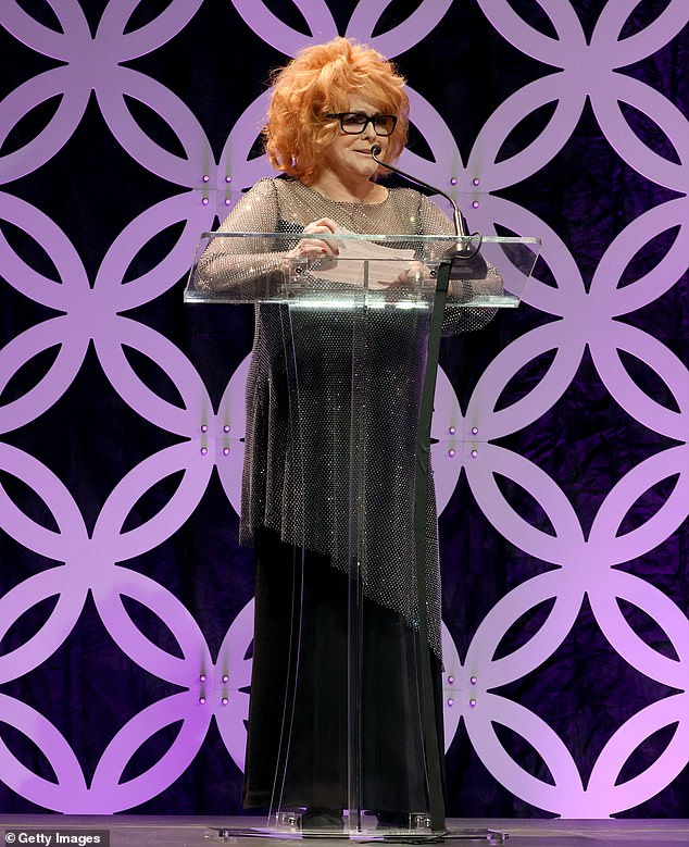 Lifetime Achievement: Legendary performer Ann-Margret was honored with the Lifetime Achievement Award at the 24th Annual Family Film Awards