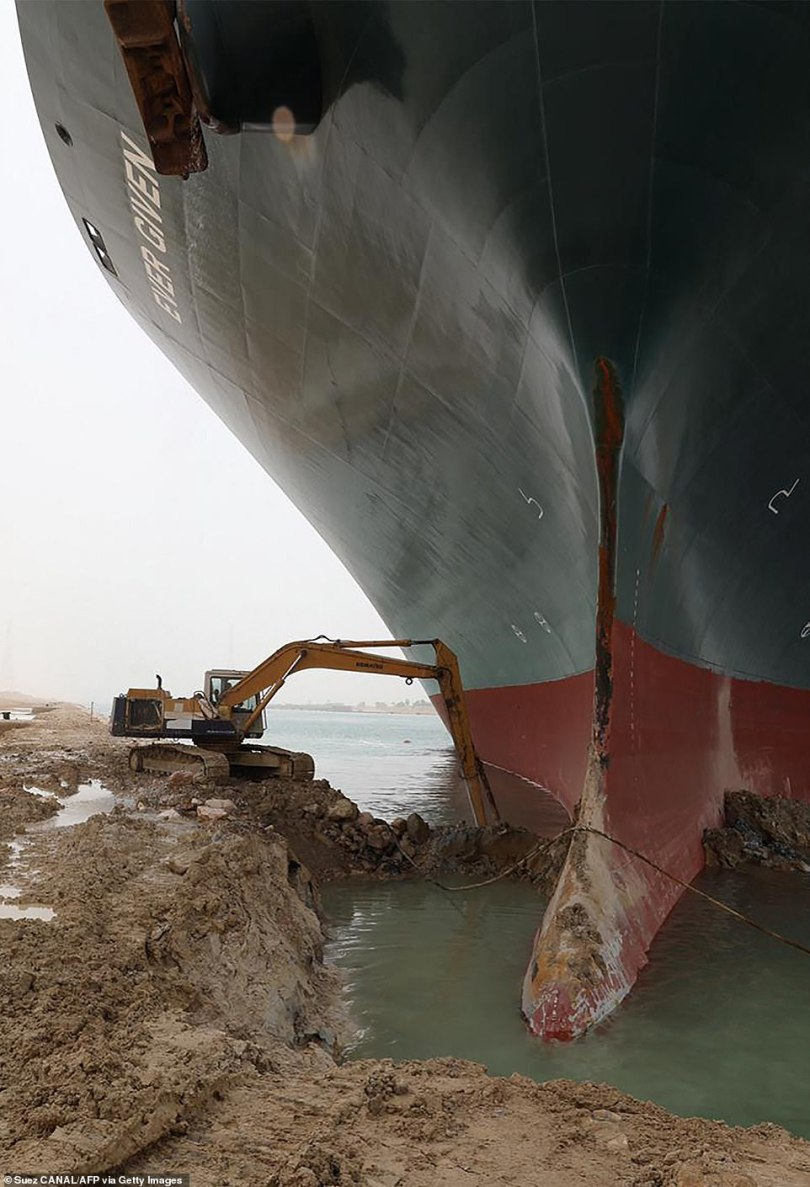 A huge container ship blocking the Suez Canal is threatening to delay shipments to the UK, with electronics, clothes, furniture and toys all likely to be affected