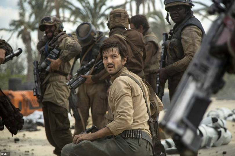 Lead star:Diego Lunda, 40, is set to reprise his role as Cassian Andor in the new 12-part series
