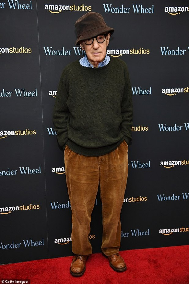 Issues: The blonde bombshell admitted that it is 'embarrassing' to find herself being criticized in the public eye for a role she accepted or comments she made;  She was widely criticized for her support of Woody Allen.
