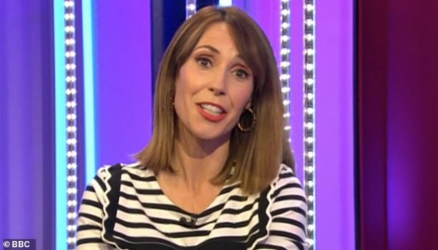 Congrats!Alex revealed live on air during Thursday's The One Show she is expecting a baby girl