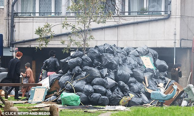 Notorious: At the time, the country was rocked by widespread strikes which saw rubbish go uncollected in central London during a notorious winter of discontent
