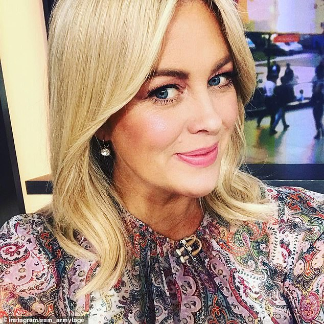 In her corner: Sunrise viewers have sided with former host Sam Armytage after co-anchors David Koch and Natalie Barr revealed they weren't invited to her farewell party on March 11