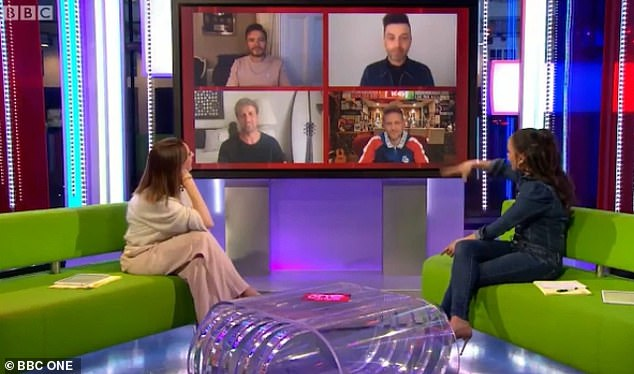 Fantastic four:As the group were in the middle of promoting their album, it was all hands on deck, with Mark explaining that Shane Filan, Kian Egan, and Nicky Byrne would all pitch in