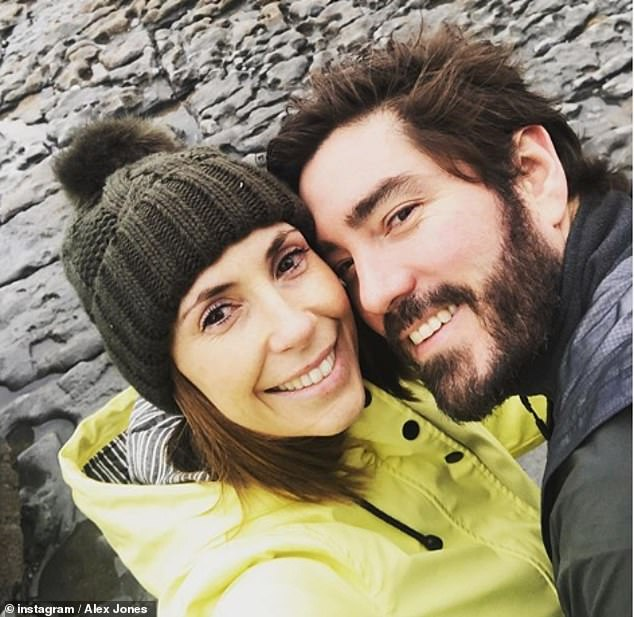 Lovely:Speaking to HELLO! magazine, Alex revealed she enjoyed every second of her wedding day, she said: 'It was spectacular.' (pictured in January 2020)