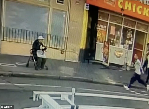 Rong Xin Liao, 74, was waiting for a bus in San Francisco in February 2020 when a man ran up to him and knocked him to the ground with a kick