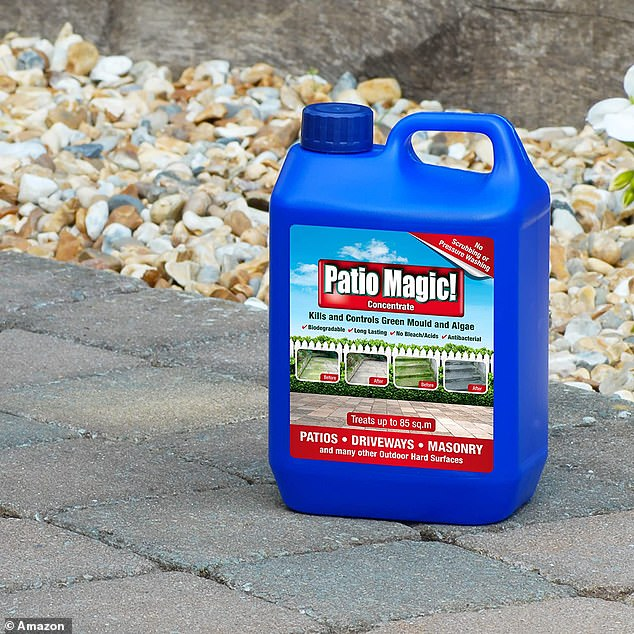 this 6 patio cleaner will transform