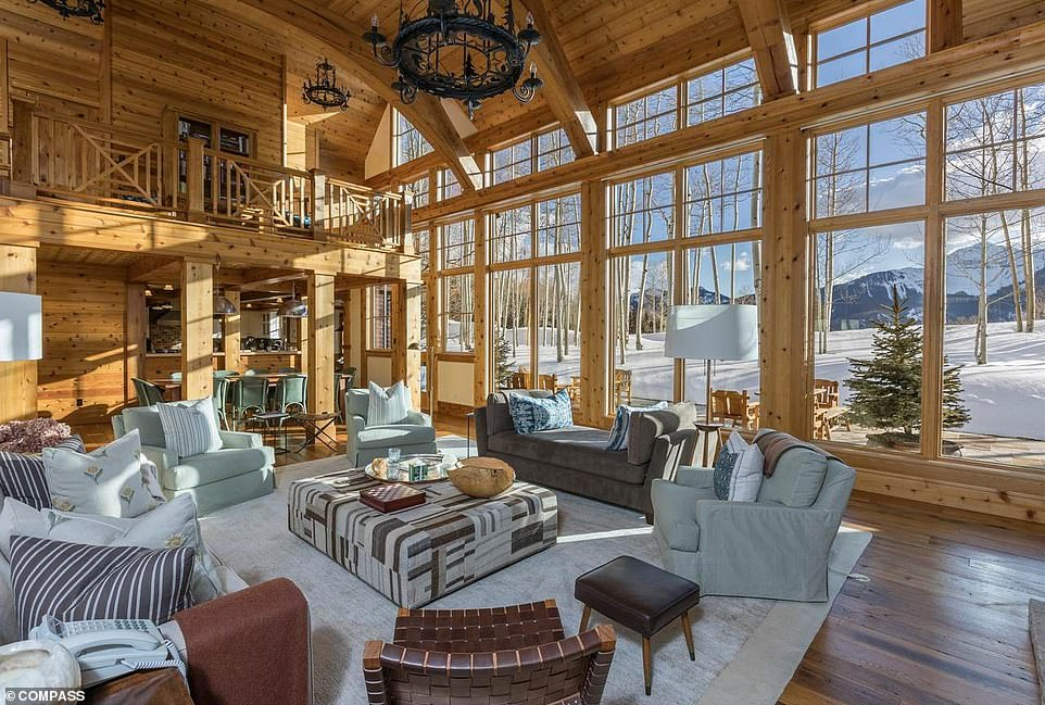 Jerry Seinfeld has listed his sprawling Telluride, Colorado mountain retreat, 10 years after his first attempt to offload the property. The 66-year-old actor and his wife Jessica Seinfeld are asking for $14.95 million for the 12,300 sq ft ranch-style property that sits on 27-acres and has 11 bedrooms, 11 full bathrooms and two half baths. Additionally, Jerry and Jessica have listed a four-bedroom guest house, which sits on a separate 17-acre parcel, for $2.775 million.