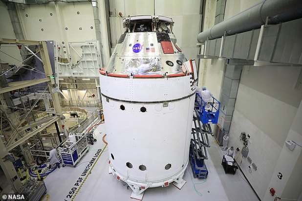 In 2024, six men and women will board the Orion for the historic Artemis III mission, the first manned moon landing since 1972.