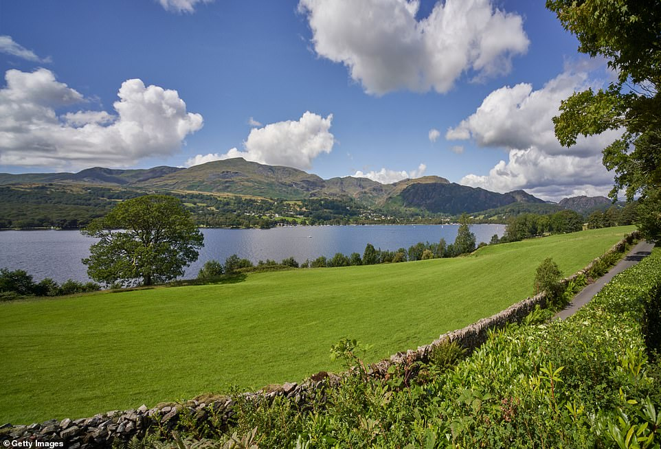Shimmering lakes and the hunkering fell figure of The Old Man of Coniston, pictured, form the backdrop of a wondrous eight-mile wander through the Lake District'sGrizedale Forest