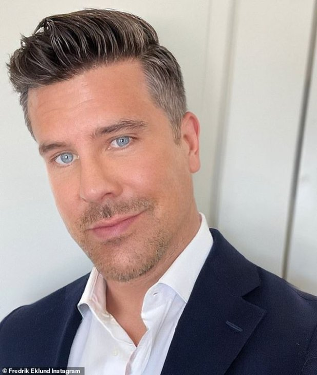 Reaching a milestone: On Thursday, Fredrik Eklund posted a selfie to his Instagram account and wrote a lengthy message to announce that he was officially sober for 160 days.