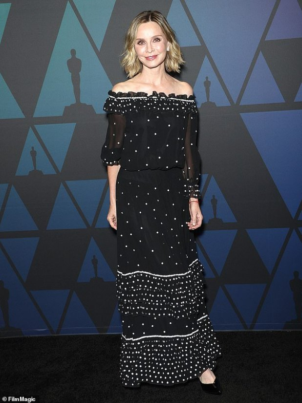 The only one: title star Calista Flockhart is waiting to return;  seen here in 2018