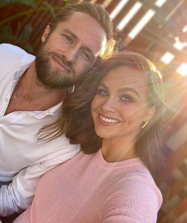 Candid: Ksenija and her husband Dan resorted to IVF treatments, knowing they only had about 40 per cent chance of conceiving