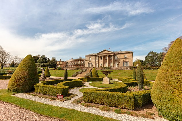 The itinerary includes visits to Trentham Estate, Arley Hall and Tatton Park (above)