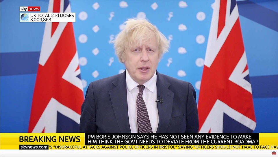 The Prime Minister today hailed the UK's vaccine taskforce in procuring jabs quickly, doubling down on previous comments hailing the benefits of capitalism
