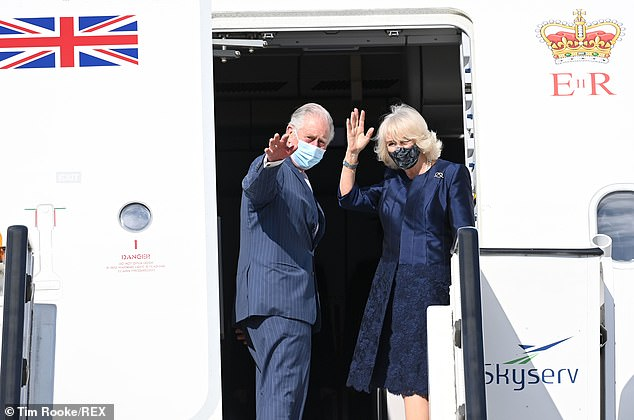 Prince Charles and Camilla Duchess of Cornwall prepare to leave Athens after visit to mark Greek independence day