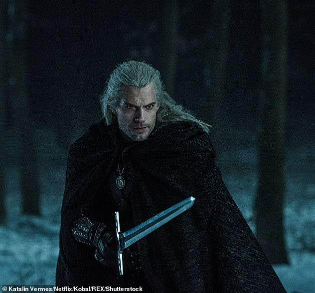 From his past: It was announced that Adjoa would take on the role of Nenneke who is a priestess of Melitele who knew Geralt of Rivia (Henry Cavill, pictured) as a child