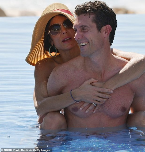 So they were: Bethenny only managed to finalize her divorce from Jason Hoppy this year;  are photographed during their marriage in Bethenny Ever After