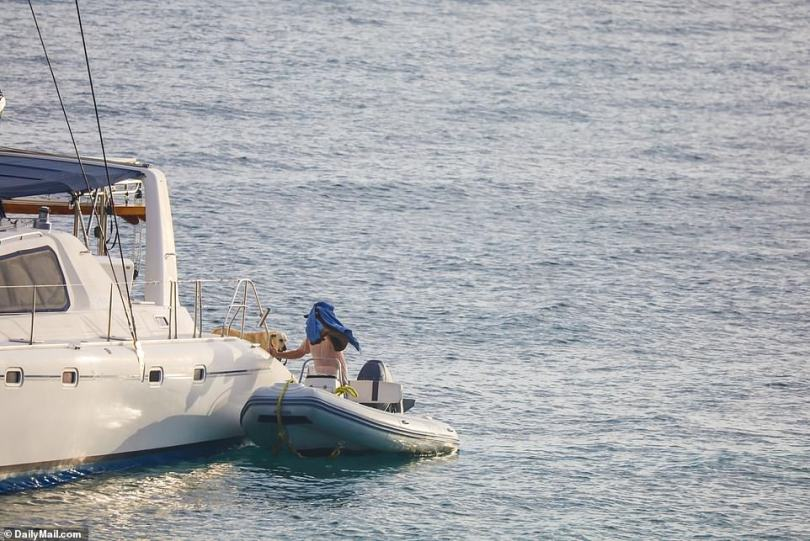 Authorities have admitted to DailyMail.com: 'He could be anywhere'.His yacht had been anchored at the same secluded spot in Frank bay, St. John for weeks but by Thursday morning it was gone