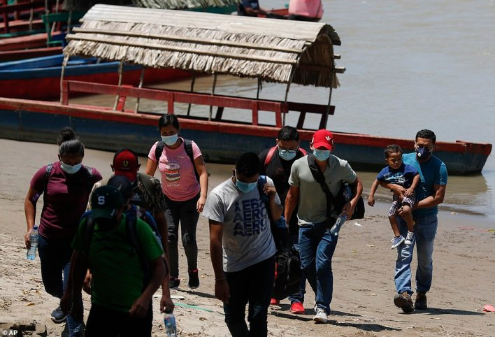 On Sunday, the same day Mexico imposed new measures to shut down migrant crossings at its border with Guatemala, 1,200 people made the boat ride at a single remote jungle outpost without showing a document to anyone