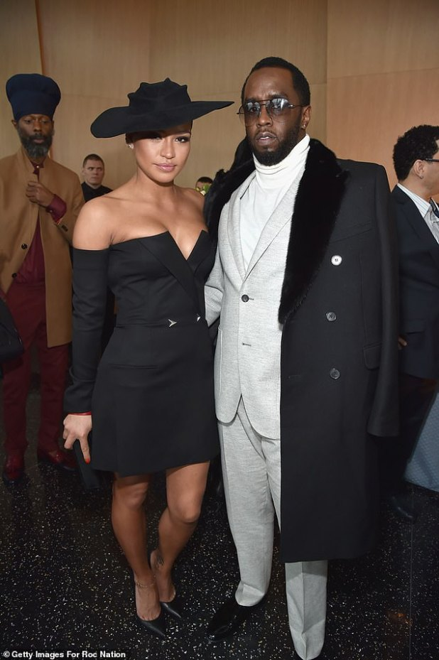 Old love: Before her current relationship, the singer had a long-term relationship with rap mogul Diddy from 2007 to 2018;  seen in 2018 in New York