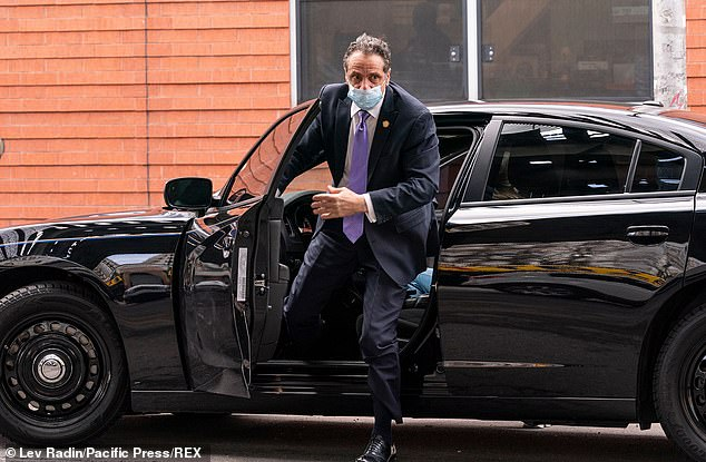 New York Attorney General Letitia James' office has issued subpoenas to dozens of Andrew Cuomo's officials as part of the probe into allegations he sexually harassed multiple women. Cuomoarrives at the New Settlement Community Center in New York Friday