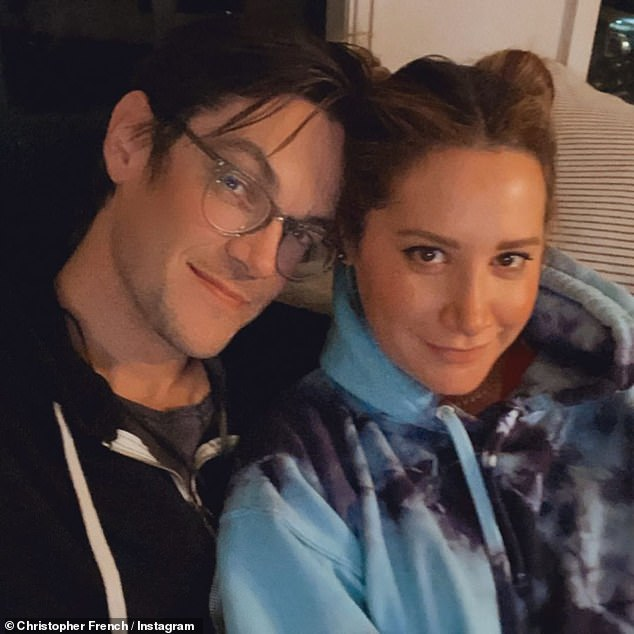 The new parents were able to celebrate the arrival of their little girl with some of their favorite food, compliments of longtime friend Haylie Duff and her partner Matt Rosenberg