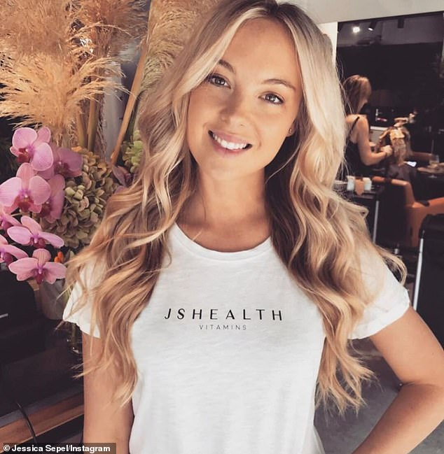 Previously, the nutritionist behind a multi-million-dollar vitamins empire offered a look at her daily diet (Jessica Sepel pictured)