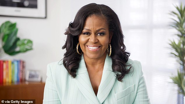 Perennial favorite:Former First Lady Michelle Obama was on hand at the Image Awards as well