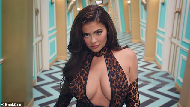 Command attention: Kylie Jenner has revealed her appearance in the racy music video to Cardi B's song WAP, was the 'highlight' of her career