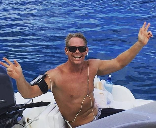 The latest development comes as it was revealed the FBI has launched a hunt for Ryan Bane (pictured) after he sailed away from the US Virgin Islands on Thursday