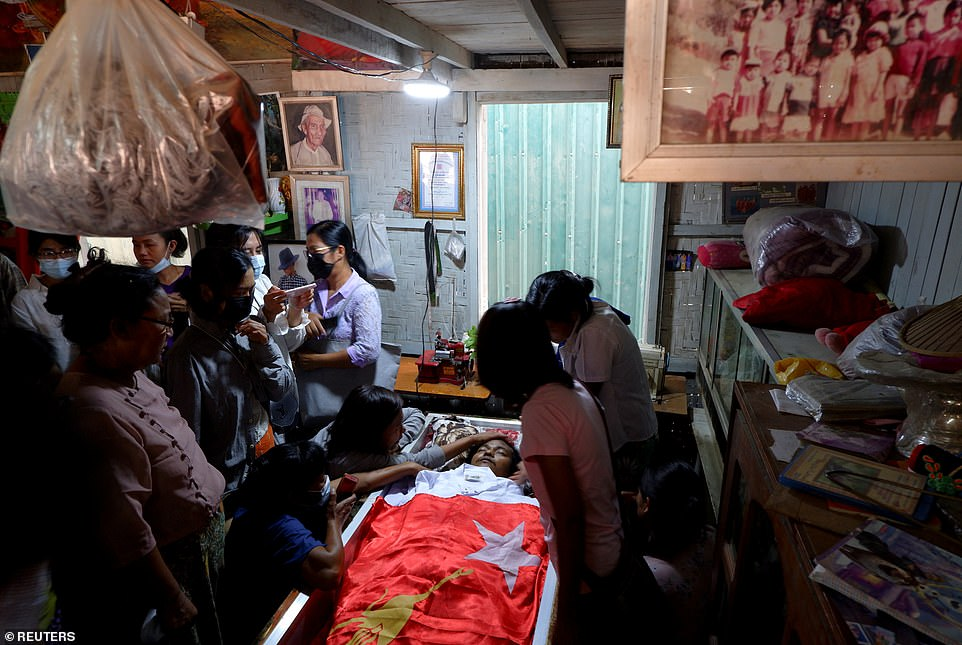 Kyaw was shot and killed by police during a protest against the military takeover. The Association of Myanmar Architects said he had been shot in the chest.