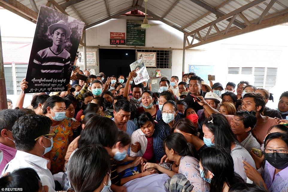 Kyaw was shot and killed by police during a protest against the military takeover. The Association of Myanmar Architects said he had been shot in the chest