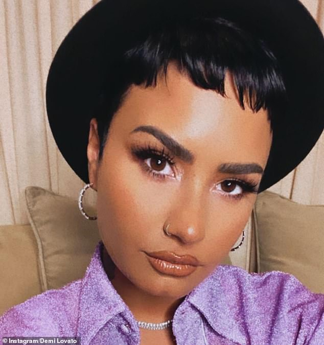 Coming to terms with her identity: Lovato told Entertainment Weekly : 'Regardless if drama is happening or not, I am too gay to marry a man right now'