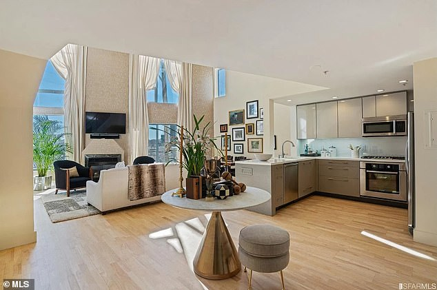 Her condo was light and airy and modern, cohesive with her more informal style – unlike the formal and antique nature of Blair House