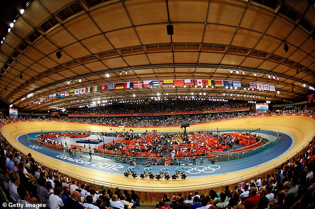 The letter sent to UKAD asked why British Cycling was allowed to conduct its own investigation into a potential dope before London 2012 (pictured)